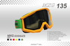 motorcycle goggles tinted lens-MXG135