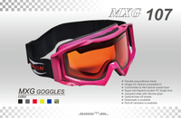 motorcycle goggles over glasses-MXG107