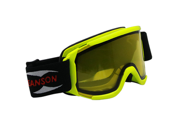 Light transmittance of ski goggles